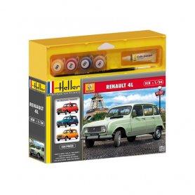 Heller 50759 Starter Set Renault 4L GTL 1/24