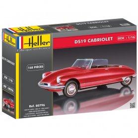 Heller 80786 Citroen DS19 Cabriolet 1/16