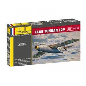 Heller 80260 Saab Tunnan J29 1/72