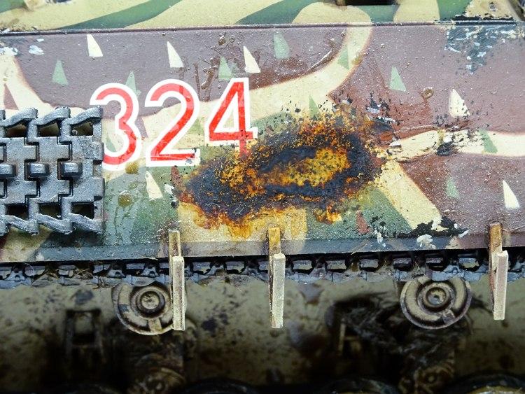 Malowanie modeli czołgów