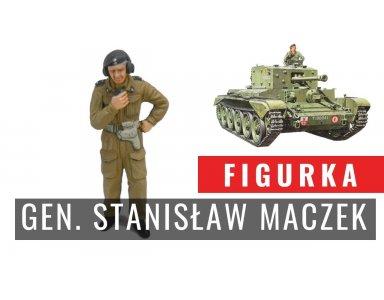 Malowanie figurki w skali 1:35 - gen. Stanisław Maczek
