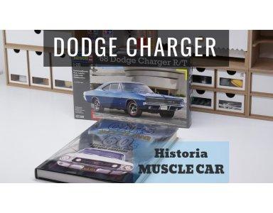 Dodge Charger R/T 1968 część 1: Historia Muscle Carów i wstęp do budowy modelu