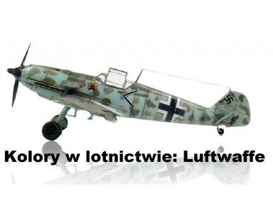 Kolory kamuflaży Luftwaffe w czasie II Wojny Światowej