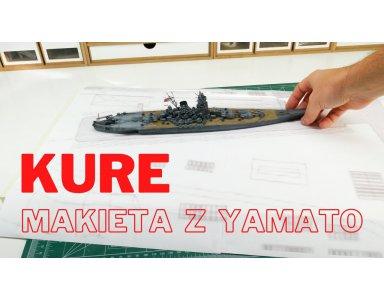 Tamiya 1:700 IJN Yamato część 13 - plan dioramy